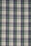 Fondo del paño verde, blanco y negro de la tela escocesa imagenes de archivo