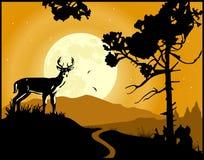 Fondo del paesaggio royalty illustrazione gratis
