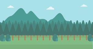Fondo del paisaje de la montaña Imagen de archivo libre de regalías