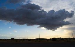 Fondo del paisaje del desierto de Arizona imagen de archivo libre de regalías