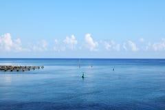 Fondo del paisaje marino imagen de archivo
