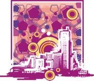 Fondo del paisaje urbano libre illustration