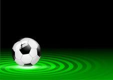 Fondo del pallone da calcio Immagine Stock Libera da Diritti