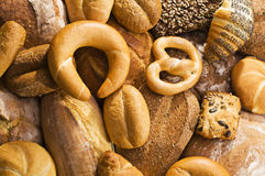 Fondo del pan foto de archivo