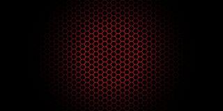 Fondo del panal del papel pintado Ejemplo del vector del fondo geométrico de los hexágonos libre illustration
