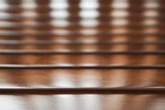 Fondo del panel de la madera dura Foto de archivo libre de regalías