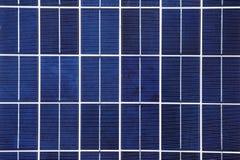 Fondo del panel solar Imágenes de archivo libres de regalías