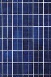 Fondo del panel solar Foto de archivo libre de regalías
