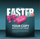 Fondo del panier de la venta de Pascua