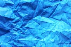 Fondo del papel azul fotografía de archivo libre de regalías