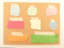 Fondo del papel coloreado Fotografía de archivo libre de regalías