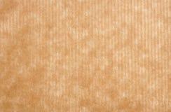 Fondo del papel de embalaje de Brown Imagen de archivo libre de regalías
