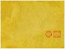 Fondo del papel de la vendimia. Fotografía de archivo
