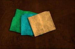 Fondo del papel del colorfu de Grunge en los planos múltiples Fotografía de archivo libre de regalías