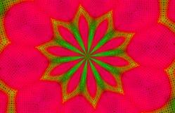 Fondo del papel pintado del caleidoscopio de la Navidad Fotos de archivo
