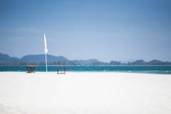 Fondo del papel pintado del hd de la playa de la tabla Foto de archivo libre de regalías