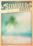 Fondo del paraíso del verano Foto de archivo