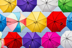 Fondo del paraguas Imágenes de archivo libres de regalías