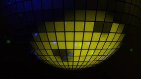 Fondo del partido de disco con las bolas brillantes y reflectoras del disco libre illustration