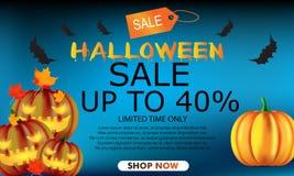 Fondo del partido de Halloween para la tienda libre illustration