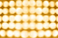 Fondo del partido de las luces de la etapa Imágenes de archivo libres de regalías