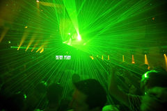 Fondo del partido del club de noche Imagen de archivo