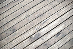 Fondo del paseo marítimo del tablón de la madera Fotografía de archivo