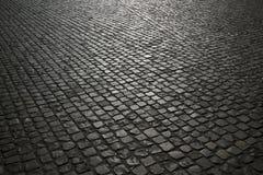 Fondo del pavimento de adoquín Fotos de archivo