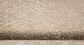 Fondo del pavimento e del muro di cemento Fotografie Stock