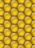 Fondo del peine de la miel Foto de archivo libre de regalías