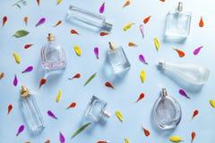 Fondo del perfume stock de ilustración
