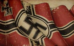 Fondo del periódico de la bandera 1938-1945 de la guerra de Alemania viejo imágenes de archivo libres de regalías