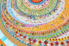 Fondo del piso con la gema de la escultura, estilo asiático, fotografía de archivo libre de regalías