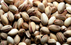 Fondo del pistacho Imagen de archivo libre de regalías