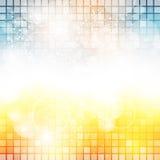 Fondo del pixel Fotografia Stock