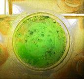 Fondo del plato del laboratorio, veneno Fotos de archivo libres de regalías