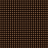 Fondo del pois di vettore di Halloween Struttura senza cuciture senza fine scura arancio e nera Modello di giorno di ringraziamen illustrazione di stock