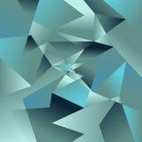 Fondo del polígono Vector abstracto de la textura Fotos de archivo libres de regalías