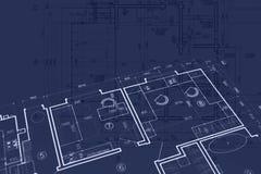 Fondo del posto di lavoro degli architetti modelli, engi civile della costruzione illustrazione di stock