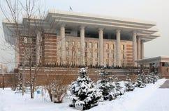 Fondo del Presidente il Kazakistan a Almaty Immagini Stock