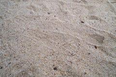 Fondo del primer de la arena Fotos de archivo