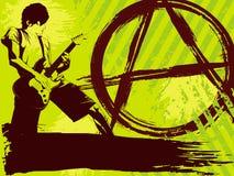 Fondo del punk rock stock de ilustración