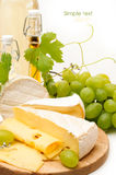 Fondo del queso Fotografía de archivo libre de regalías