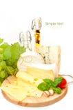 Fondo del queso Fotos de archivo