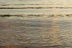 Fondo del río de la puesta del sol Fotos de archivo
