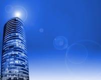 Fondo del rascacielos Imágenes de archivo libres de regalías
