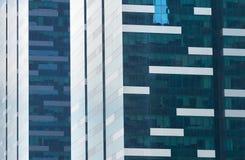 Fondo del rascacielos del negocio Singapur Imagenes de archivo