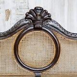 Fondo del rattan, struttura Fotografie Stock Libere da Diritti