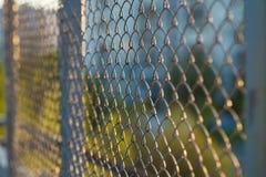 Fondo del recinto della maglia Fotografia Stock Libera da Diritti