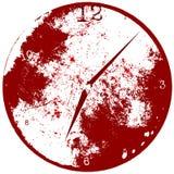 Fondo del reloj de tiempo de Grunge ilustración del vector